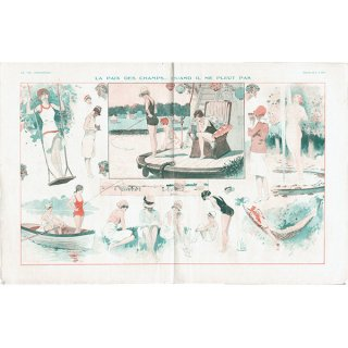 フランスの雑誌挿絵 〜LA VIE PARISIENNE〜よりLouis Vallet 0244