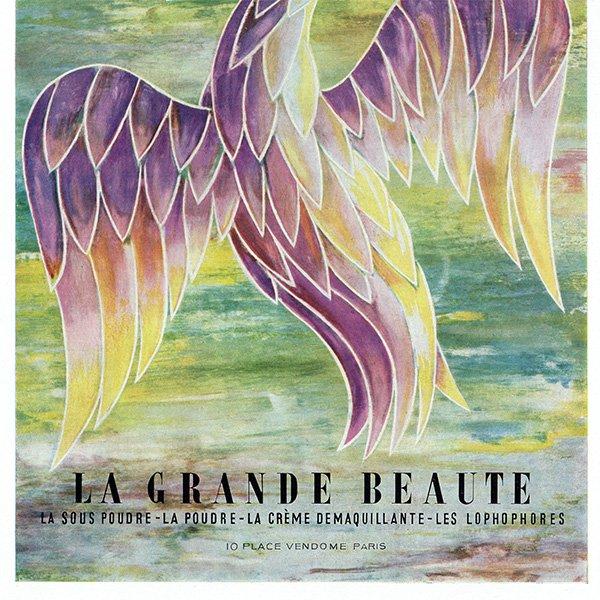 フランスの1956年ファッション雑誌よりCaron(キャロン)の広告 0178
