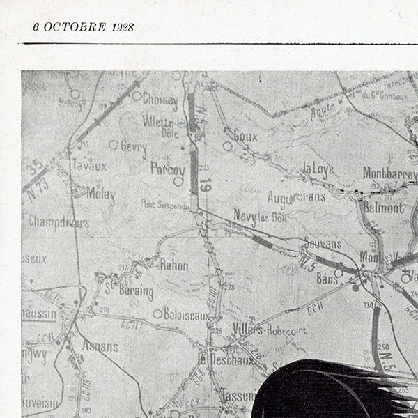フランスの1928年の雑誌よりHermès(エルメス)の広告 0180<img class='new_mark_img2' src='https://img.shop-pro.jp/img/new/icons5.gif' style='border:none;display:inline;margin:0px;padding:0px;width:auto;' />