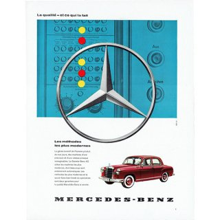 MERCEDES-BENZ(メルセデスベンツ)1960年代クラシックカーのヴィンテージ広告 0038<img class='new_mark_img2' src='https://img.shop-pro.jp/img/new/icons5.gif' style='border:none;display:inline;margin:0px;padding:0px;width:auto;' />