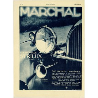 MARCHAL(マーシャル)1932年ヴィンテージ広告 0045<img class='new_mark_img2' src='https://img.shop-pro.jp/img/new/icons5.gif' style='border:none;display:inline;margin:0px;padding:0px;width:auto;' />