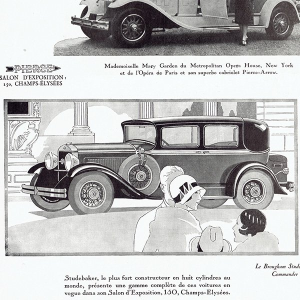 STUDEBAKER(スチュードベーカー)1929年クラシックカーのヴィンテージ広告 0046<img class='new_mark_img2' src='https://img.shop-pro.jp/img/new/icons5.gif' style='border:none;display:inline;margin:0px;padding:0px;width:auto;' />