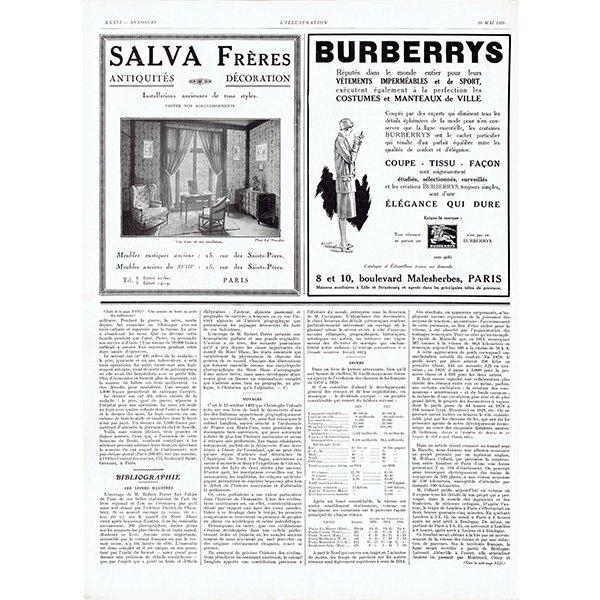 MORRIS-LEON- BOLLEE(モーリス社 レオン・ボレー) 1929年 フレンチヴィンテージ広告  0081