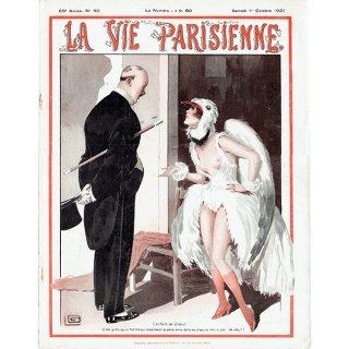 フランスの雑誌表紙 〜LA VIE PARISIENNE〜(ジョルジュ・レオネック/Georges Léonnec)0253
