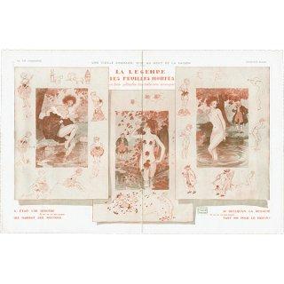 フランスの雑誌挿絵 〜LA VIE PARISIENNE〜より(ジョルジュ・レオネック/Georges Léonnec)0294