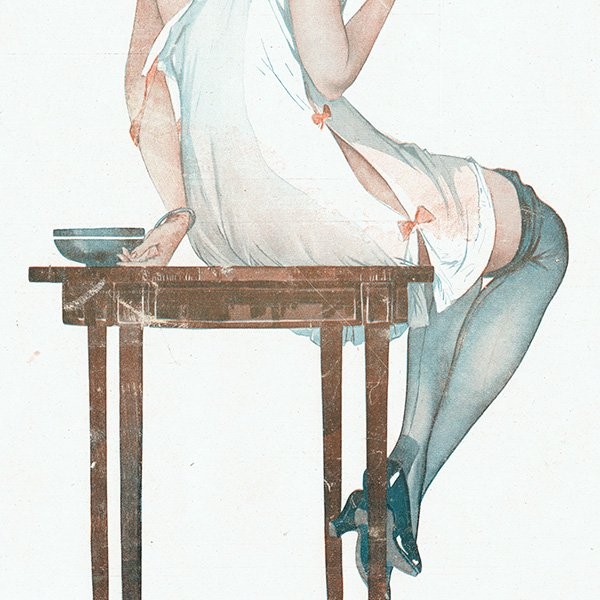 フランスの雑誌表紙 〜LA VIE PARISIENNE〜より(ジョルジュ・レオネック/Georges Léonnec)0317