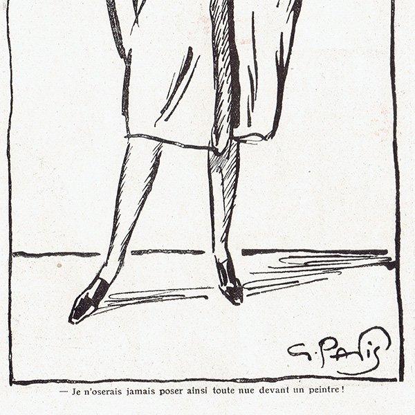 フランスの雑誌挿絵 〜LA VIE PARISIENNE〜より(Jacques Souriau)0321