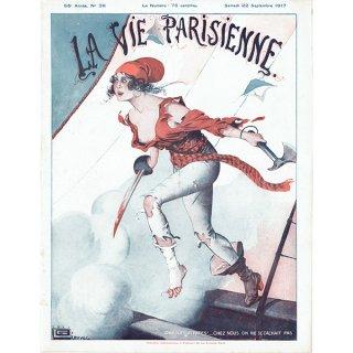 フランスの雑誌表紙 〜LA VIE PARISIENNE〜より(ジョルジュ・レオネック/Georges Léonnec)0322<img class='new_mark_img2' src='https://img.shop-pro.jp/img/new/icons5.gif' style='border:none;display:inline;margin:0px;padding:0px;width:auto;' />
