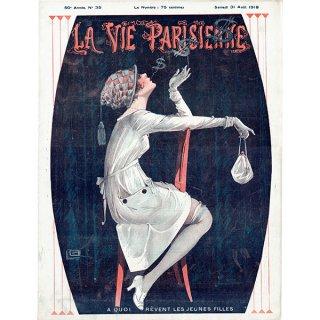 フランスの雑誌表紙 〜LA VIE PARISIENNE〜より(ジョルジュ・レオネック/Georges Léonnec)0325<img class='new_mark_img2' src='https://img.shop-pro.jp/img/new/icons5.gif' style='border:none;display:inline;margin:0px;padding:0px;width:auto;' />