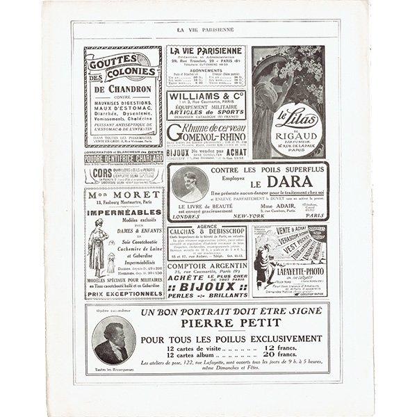 フランスの雑誌表紙 〜LA VIE PARISIENNE〜より(ジョルジュ・レオネック/Georges Léonnec)0327