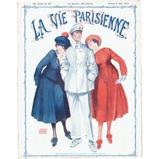 フランスの雑誌表紙 〜LA VIE PARISIENNE〜より(ジョルジュ・レオネック/Georges Léonnec)0327<img class='new_mark_img2' src='https://img.shop-pro.jp/img/new/icons5.gif' style='border:none;display:inline;margin:0px;padding:0px;width:auto;' />