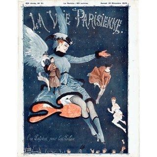 フランスの雑誌表紙 〜LA VIE PARISIENNE〜より(ジョルジュ・レオネック/Georges Léonnec)0331<img class='new_mark_img2' src='https://img.shop-pro.jp/img/new/icons5.gif' style='border:none;display:inline;margin:0px;padding:0px;width:auto;' />
