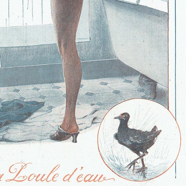 フランスの雑誌挿絵 〜LA VIE PARISIENNE〜より(ジョルジュ・レオネック/Georges Léonnec)0336