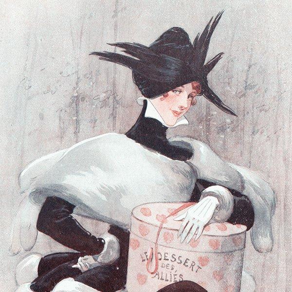 フランスの雑誌挿絵 〜LA VIE PARISIENNE〜より(Louis Vallet)0337