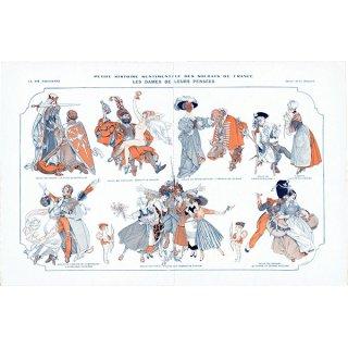 フランスの雑誌挿絵 〜LA VIE PARISIENNE〜より(シェリ・エルアール/Chéri Hérouard)0344