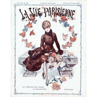 フランスの雑誌表紙 〜LA VIE PARISIENNE〜より(シェリ・エルアール/Chéri Hérouard)0365<img class='new_mark_img2' src='https://img.shop-pro.jp/img/new/icons5.gif' style='border:none;display:inline;margin:0px;padding:0px;width:auto;' />
