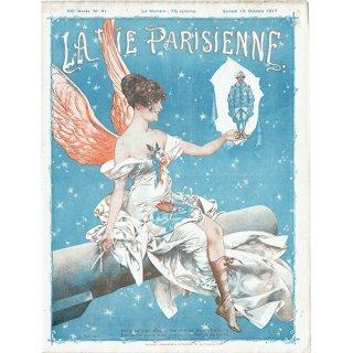 フランスの雑誌表紙 〜LA VIE PARISIENNE〜より(シェリ・エルアール/Chéri Hérouard)0377<img class='new_mark_img2' src='https://img.shop-pro.jp/img/new/icons5.gif' style='border:none;display:inline;margin:0px;padding:0px;width:auto;' />