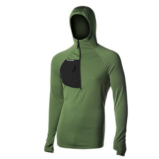 BLACK SPIDER HOODY MENS