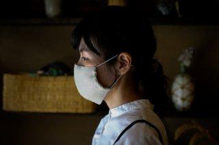 知多木綿を使用した布マスク