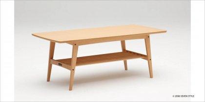 カリモク60 リビングテーブル(大)ピュアビーチ色