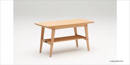 カリモク60 リビングテーブル(小)ピュアビーチ色