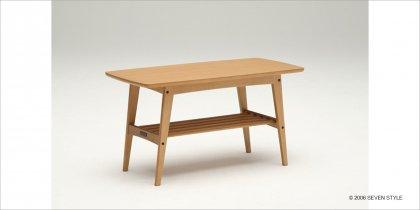 カリモク60 リビングテーブル(小)ナッツシェル色