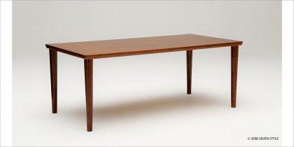 カリモク60+ ダイニングテーブル1800(ウォールナット色)