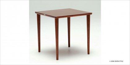 カリモク60+ ダイニングテーブル800(ウォールナット色)