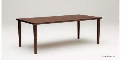 カリモク60+ ダイニングテーブル1800(モカブラウン色)