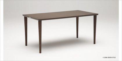 カリモク60+ ダイニングテーブル1500(モカブラウン色)