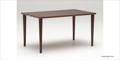 カリモク60+ ダイニングテーブル1300(モカブラウン色)