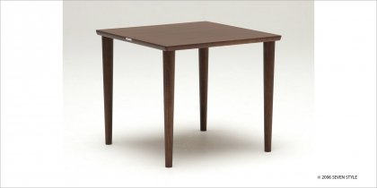 カリモク60+ ダイニングテーブル800(モカブラウン色)