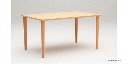 カリモク60+ ダイニングテーブル1500(ピュアビーチ色)