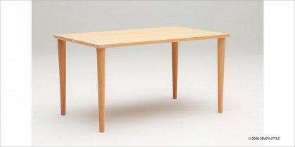 カリモク60+ ダイニングテーブル1300(ピュアビーチ色)