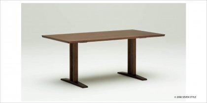 カリモク60+ ダイニングテーブルT 1500(モカブラウン色)