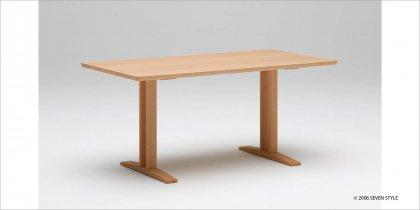 カリモク60+ ダイニングテーブルT 1500(ピュアビーチ色)