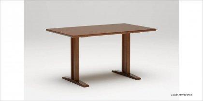 カリモク60+ ダイニングテーブルT 1300(ウォールナット色)