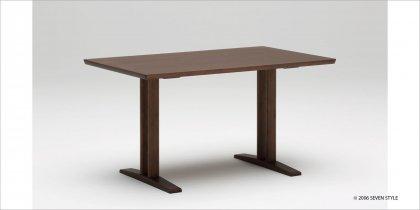 カリモク60+ ダイニングテーブルT 1300(モカブラウン色)