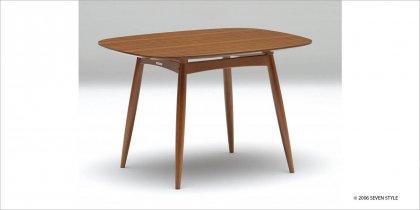 カリモク60+ Dテーブル(ウォールナット色)