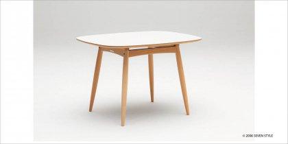 カリモク60+ Dテーブル(ピュアビーチ色)