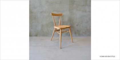 【OUTLET】 ERCOL / アーコール正規品 スタッキングチェア(クリア)