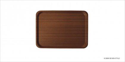 【通販在庫有り】サイトーウッド Tray 1004 (teak grain)