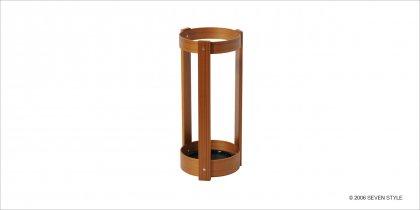 【通販在庫有り】サイトーウッド Umbrella Stand (teak grain)