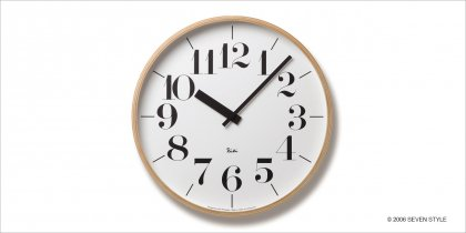 Lemnos RIKI CLOCK WR-0401L