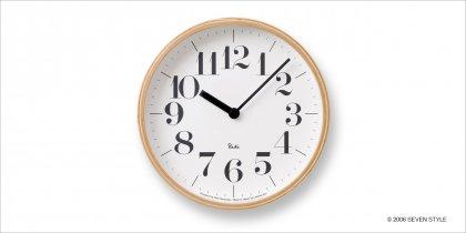 <通販在庫あり>Lemnos RIKI CLOCK WR-0401S