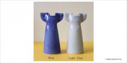 【通販在庫有り】 Lisa Larson / リサ・ラーソン Dress / ドレス  Light blue / ライトブルー