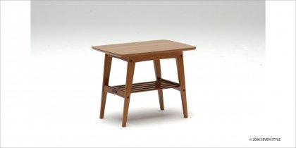 カリモク60 サイドテーブル(小)ウォールナット色