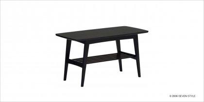カリモク60 リビングテーブル(小)マットブラック色