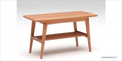 カリモク60+カリモク リビングテーブル(小)チェリー