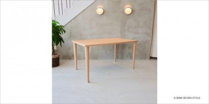 【OUTLET】カリモク60+ ダイニングテーブル1300(ピュアビーチ色)